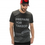 "Koszulka / t-shirt Ford Mustang ""Prepare for Takeoff"" - 35900098"