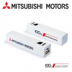Powerbank 2600 mAh 100th Anniversary Mitsubishi Motors - MME50680