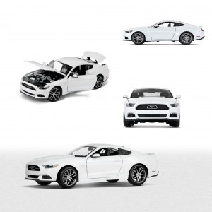Ford Mustang GT 50th Anniversary Edition w skali 1:18 - 35021491