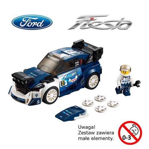 Klocki Lego Ford Fiesta Wrc Części I Akcesoria Sklep Online