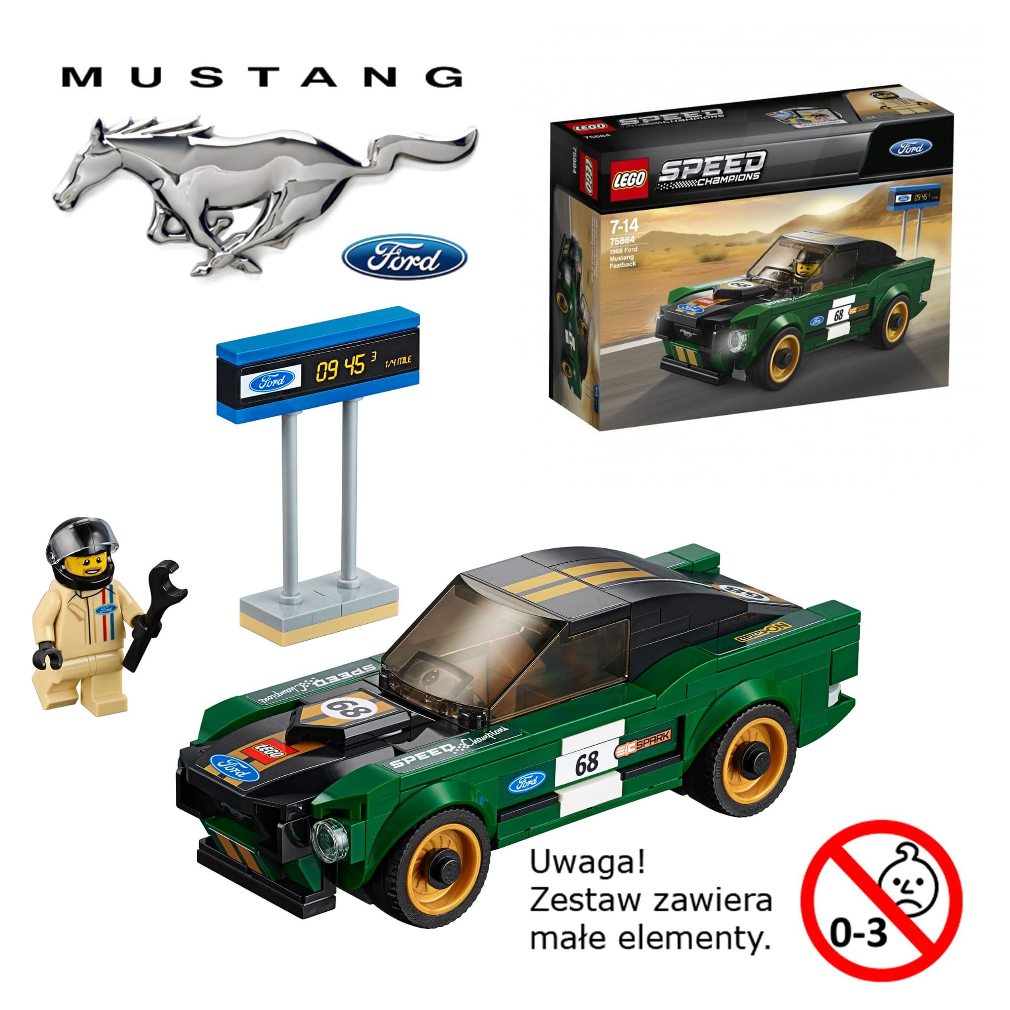 Ford Mustang Gt Klocki Lego 35030118 Części I Akcesoria