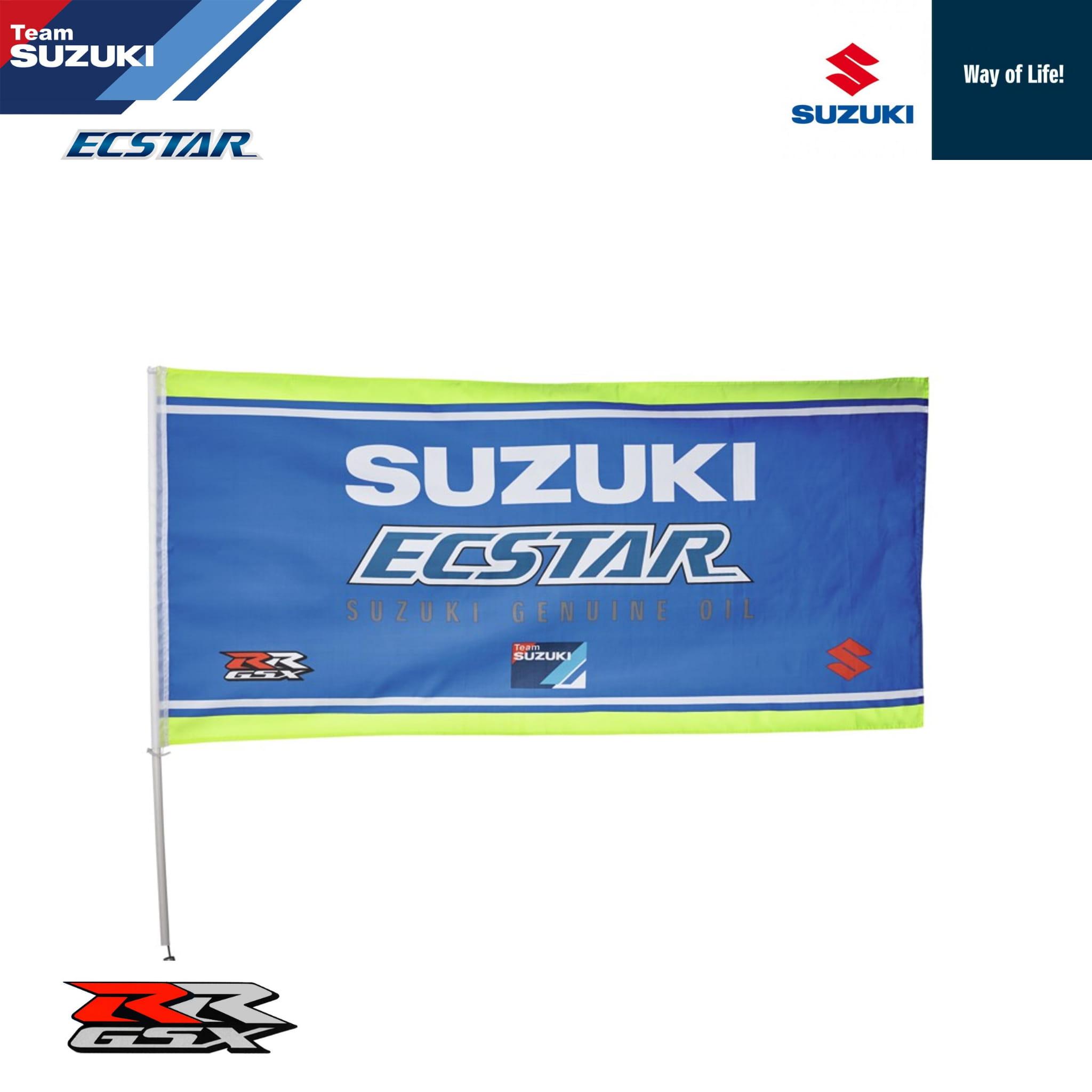 ae4fe82c7eb9f Flaga zespołu Suzuki Ecstar MotoGP części i akcesoria motoryzacyjne ...